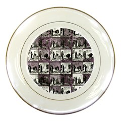 Comic book  Porcelain Plates