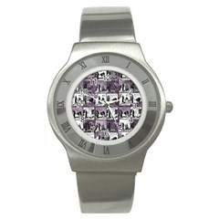 Comic book  Stainless Steel Watch