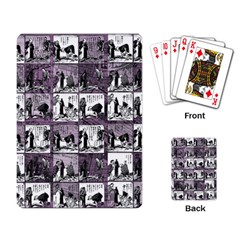 Comic book  Playing Card