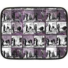 Comic book  Fleece Blanket (Mini)