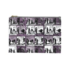 Comic book  Cosmetic Bag (Large)