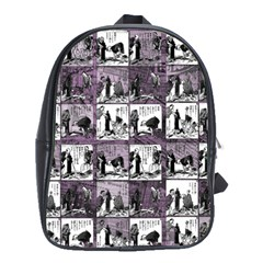 Comic book  School Bags(Large)