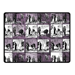 Comic book  Fleece Blanket (Small)