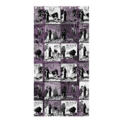 Comic book  Shower Curtain 36  x 72  (Stall)
