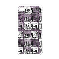 Comic book  Apple iPhone 4 Case (White)