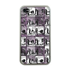 Comic book  Apple iPhone 4 Case (Clear)