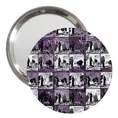 Comic book  3  Handbag Mirrors