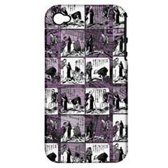 Comic book  Apple iPhone 4/4S Hardshell Case (PC+Silicone)