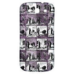 Comic book  Samsung Galaxy S3 S III Classic Hardshell Back Case
