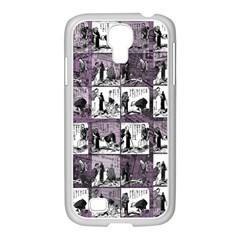 Comic book  Samsung GALAXY S4 I9500/ I9505 Case (White)