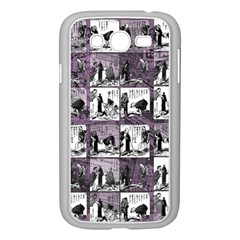 Comic book  Samsung Galaxy Grand DUOS I9082 Case (White)
