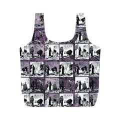 Comic book  Full Print Recycle Bags (M)