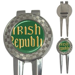 The Irish Republic Flag (1916, 1919-1922) 3-in-1 Golf Divots
