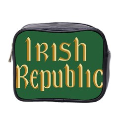 The Irish Republic Flag (1916, 1919-1922) Mini Toiletries Bag 2-Side