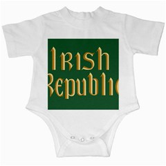 The Irish Republic Flag (1916, 1919-1922) Infant Creepers