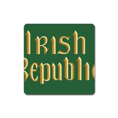 The Irish Republic Flag (1916, 1919-1922) Square Magnet