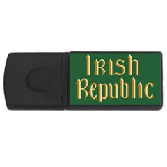The Irish Republic Flag (1916, 1919-1922) USB Flash Drive Rectangular (4 GB)
