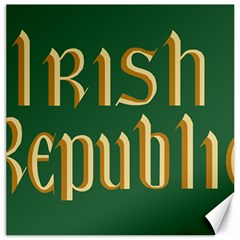 The Irish Republic Flag (1916, 1919-1922) Canvas 12  x 12