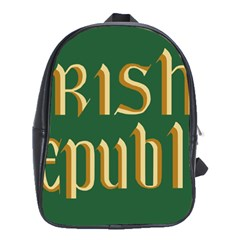 The Irish Republic Flag (1916, 1919-1922) School Bags(Large)