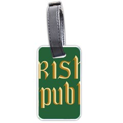 The Irish Republic Flag (1916, 1919-1922) Luggage Tags (One Side)