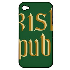 The Irish Republic Flag (1916, 1919-1922) Apple iPhone 4/4S Hardshell Case (PC+Silicone)