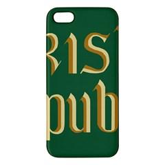 The Irish Republic Flag (1916, 1919-1922) Apple iPhone 5 Premium Hardshell Case