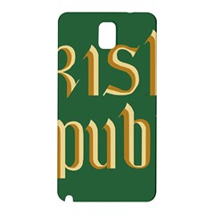 The Irish Republic Flag (1916, 1919-1922) Samsung Galaxy Note 3 N9005 Hardshell Back Case