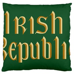 The Irish Republic Flag (1916, 1919-1922) Standard Flano Cushion Case (Two Sides)