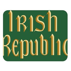 The Irish Republic Flag (1916, 1919 1922) Double Sided Flano Blanket (large)