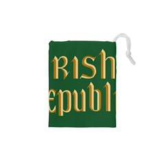 The Irish Republic Flag (1916, 1919-1922) Drawstring Pouches (XS)