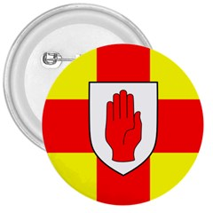 Flag of the Province of Ulster  3  Buttons