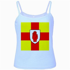 Flag of the Province of Ulster  Baby Blue Spaghetti Tank