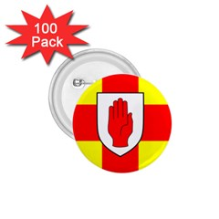 Flag of the Province of Ulster  1.75  Buttons (100 pack)