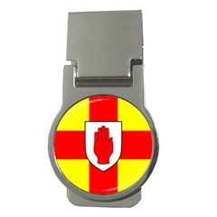 Flag of the Province of Ulster  Money Clips (Round)