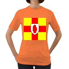 Flag of the Province of Ulster  Women s Dark T-Shirt