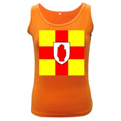 Flag of the Province of Ulster  Women s Dark Tank Top