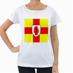 Flag of the Province of Ulster  Women s Loose-Fit T-Shirt (White)