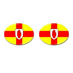 Flag of the Province of Ulster  Cufflinks (Oval)