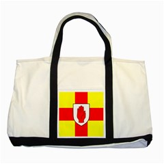 Flag of the Province of Ulster  Two Tone Tote Bag
