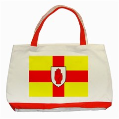 Flag Of The Province Of Ulster  Classic Tote Bag (red)