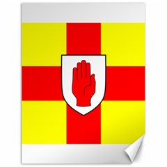 Flag of the Province of Ulster  Canvas 18  x 24