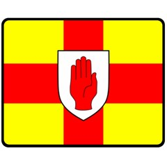 Flag of the Province of Ulster  Fleece Blanket (Medium)