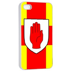 Flag of the Province of Ulster  Apple iPhone 4/4s Seamless Case (White)