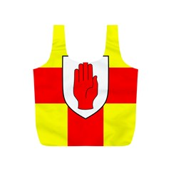 Flag of the Province of Ulster  Full Print Recycle Bags (S)