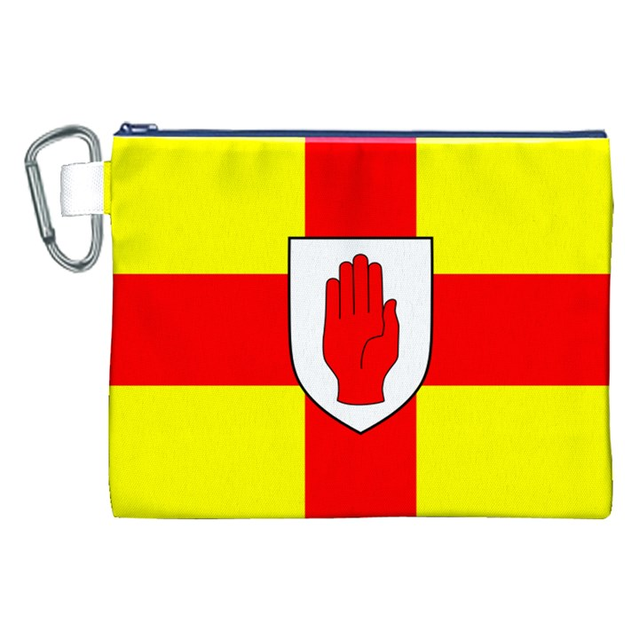 Flag of the Province of Ulster  Canvas Cosmetic Bag (XXL)