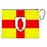 Flag of the Province of Ulster  Canvas Cosmetic Bag (XXL) Back