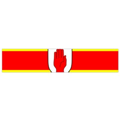 Flag of the Province of Ulster  Flano Scarf (Small)