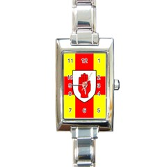 Flag of the Province of Ulster  Rectangle Italian Charm Watch