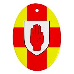 Flag of the Province of Ulster  Ornament (Oval)