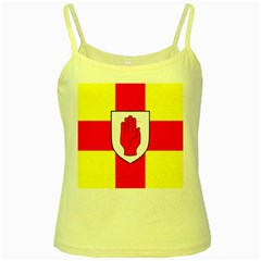 Flag of the Province of Ulster  Yellow Spaghetti Tank